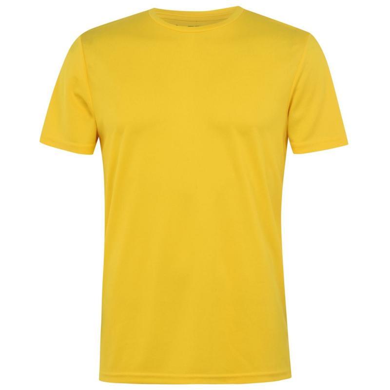 Tričko Iron Man Mesh T Shirt Mens Neon Yellow