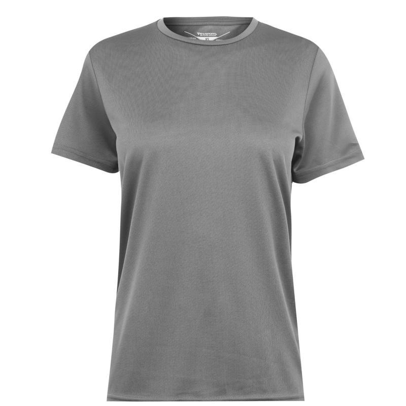 Tričko Iron Man Mesh T Shirt Mens Grey