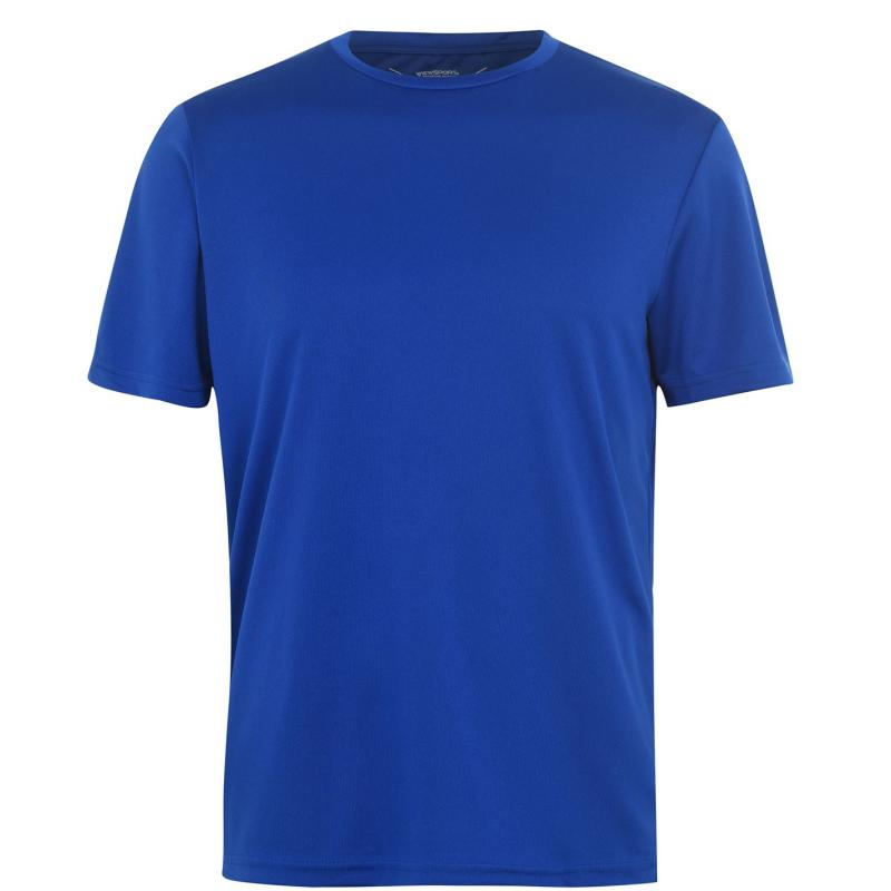 Tričko Iron Man Mesh T Shirt Mens Royal Blue