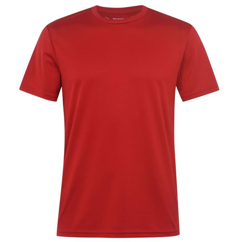 Tričko Iron Man Mesh T Shirt Mens Red