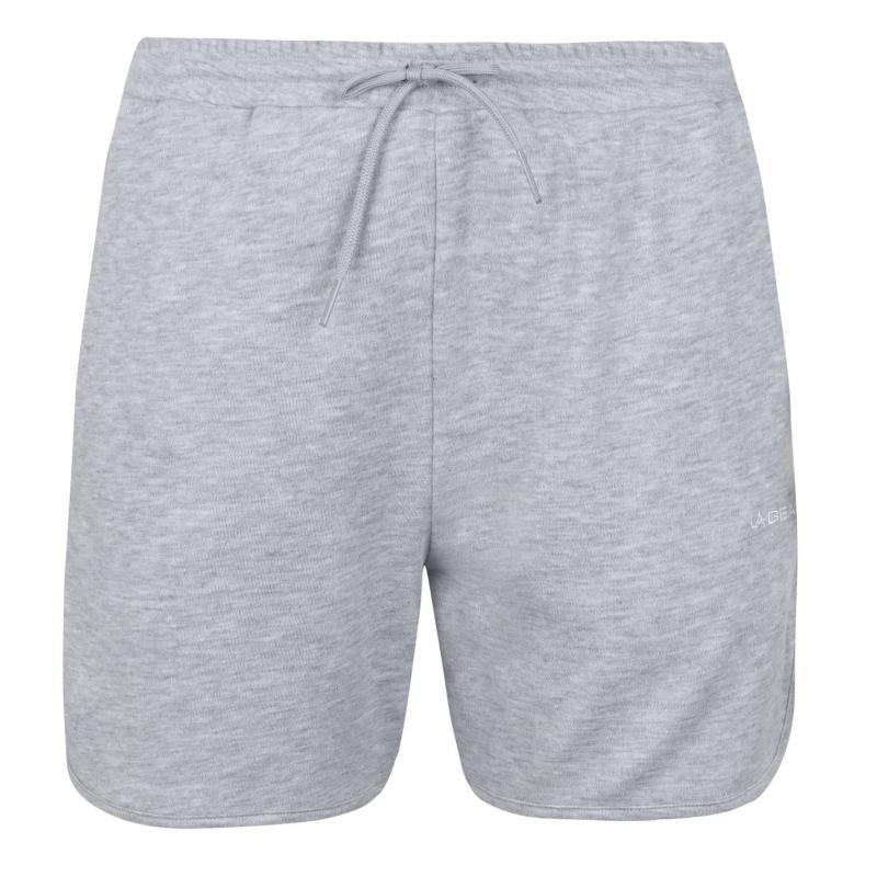 LA Gear Lightweight Shorts Ladies Grey Marl