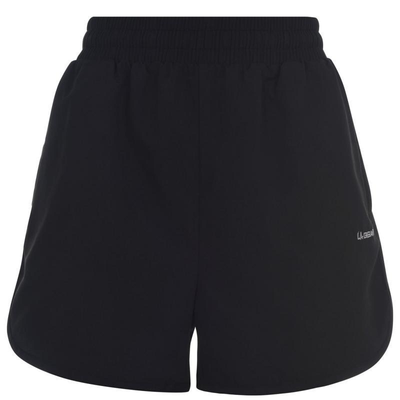 LA Gear Woven Shorts Womens Black