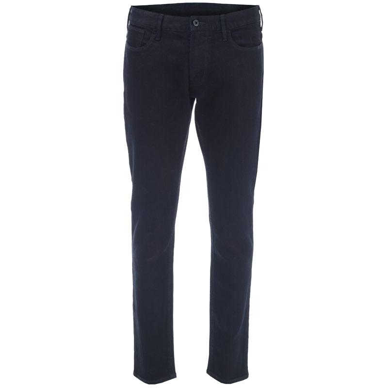 Armani Mens J06 Slim Fit Jeans Indigo