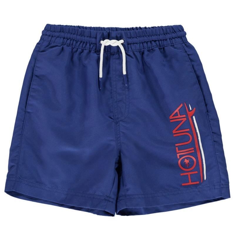 Plavky Hot Tuna Swim Shorts Junior Boys Royal Blue