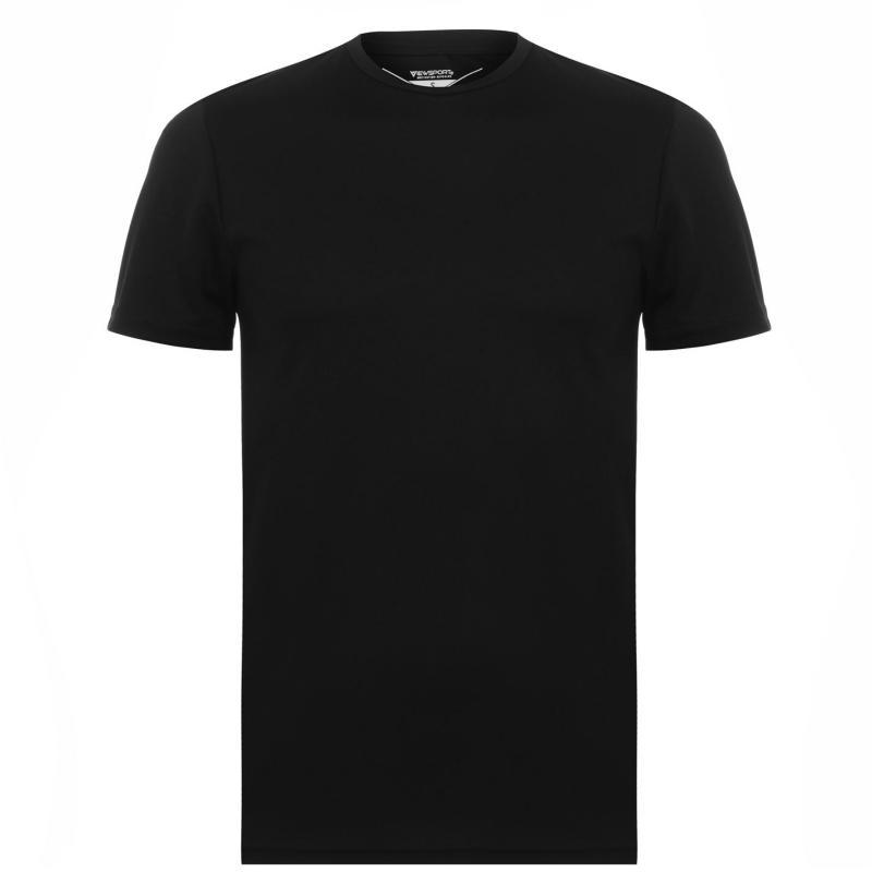 Tričko Iron Man Mesh T Shirt Mens Black