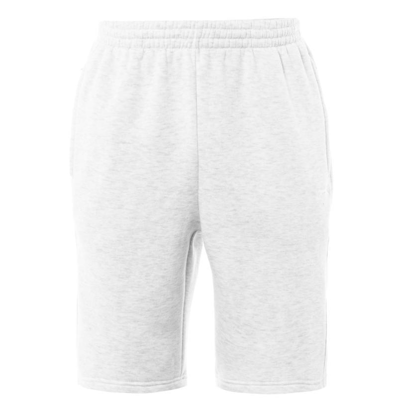 Slazenger Fleece Shorts Mens Ice Marl