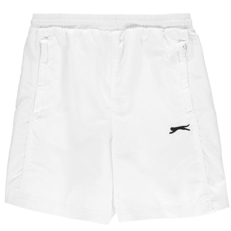 Kraťasy Slazenger Woven Shorts Junior Boys White