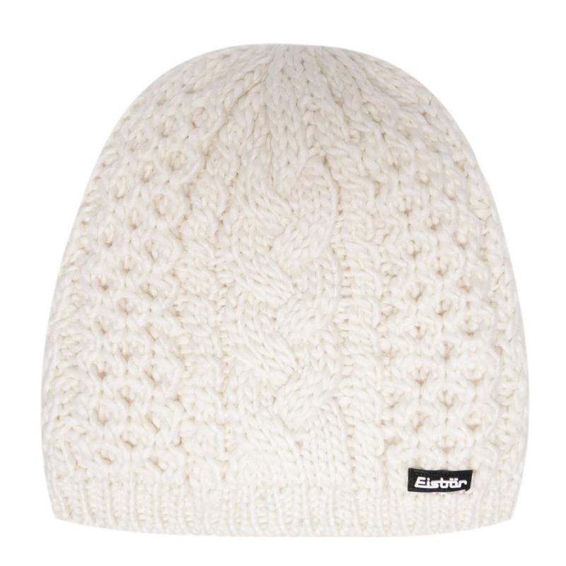 Eisbär Eisbar Afra Knit Hat Womens White