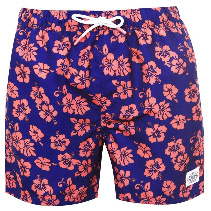 Plavky Hot Tuna Printed Shorts Mens Blue/Pink
