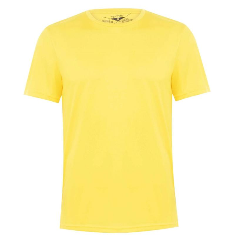 Tričko Iron Man Jersey T Shirt Mens Yellow