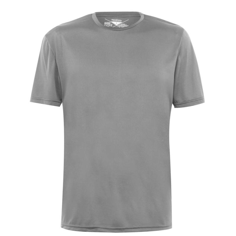 Tričko Iron Man Jersey T Shirt Mens Grey