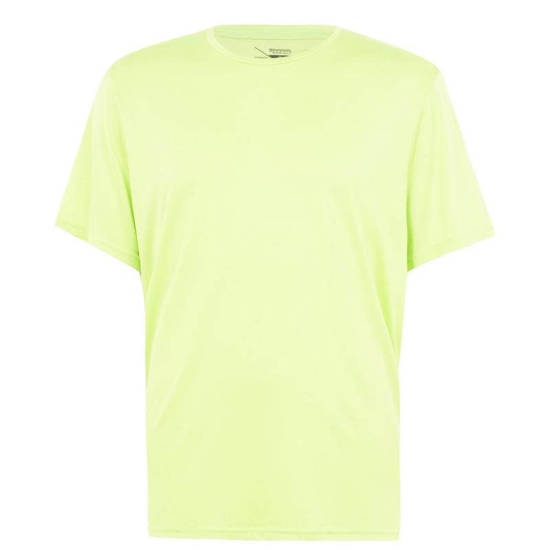 Tričko Iron Man Jersey T Shirt Mens Neon Yellow