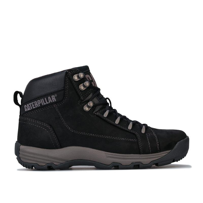 Boty Caterpillar Mens Supersede Boots Black