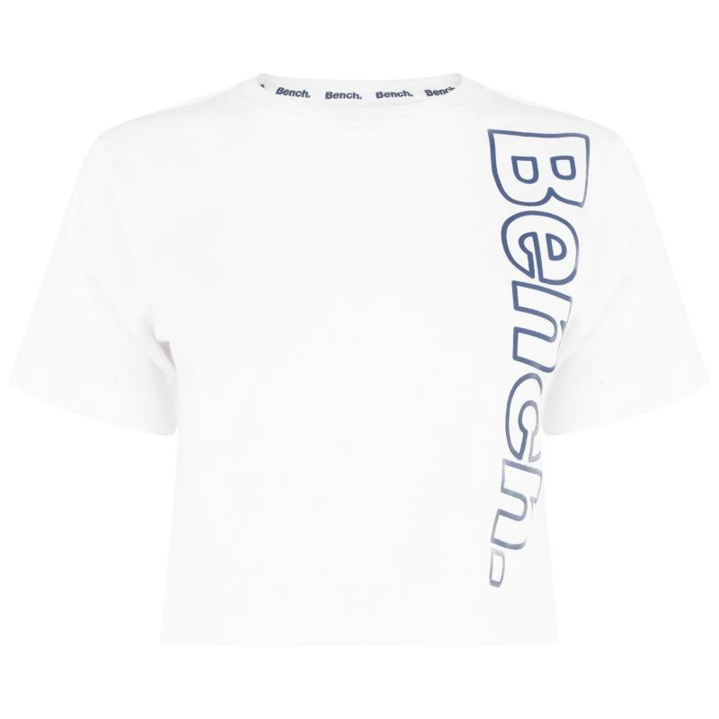 Bench Diana Crop T-Shirt Optic White