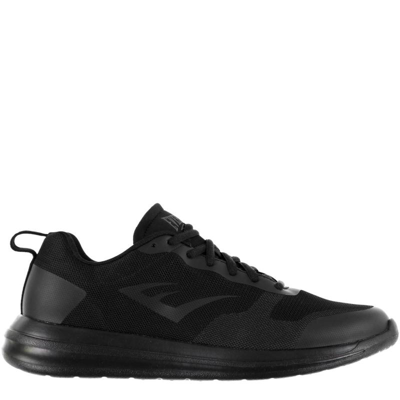 Everlast Eve Trainers Mens Black/Black