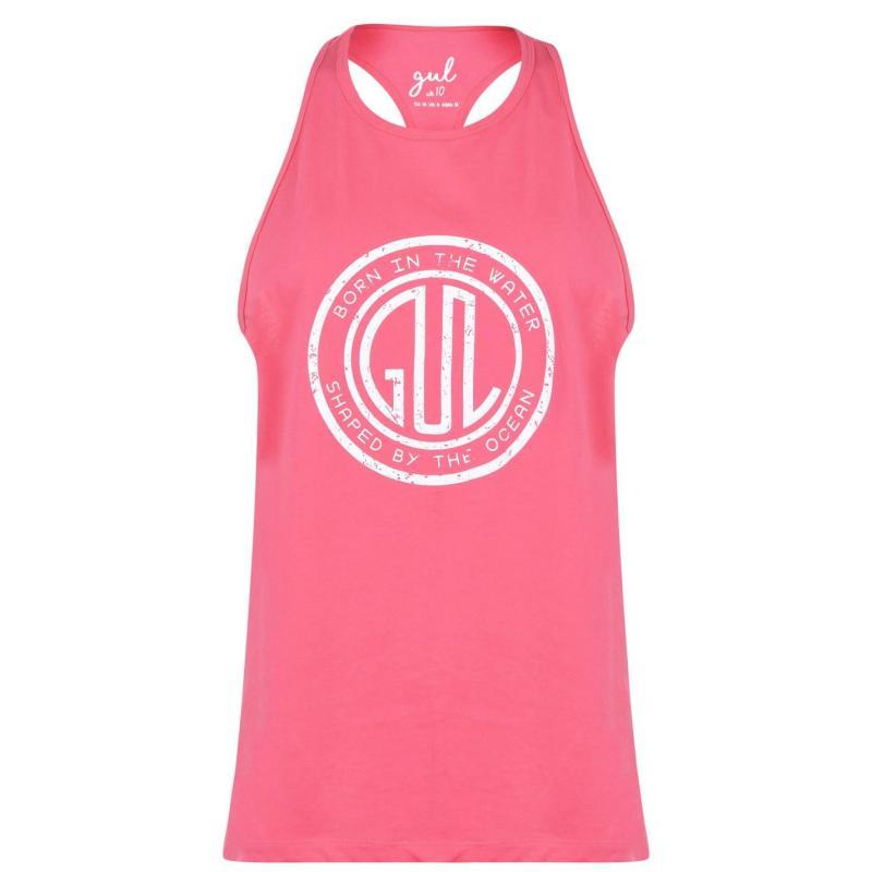 Gul Logo Vest Womens Pink