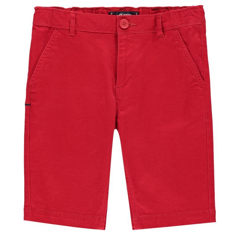 Kraťasy Kangol Chino Shorts Junior Boys Red