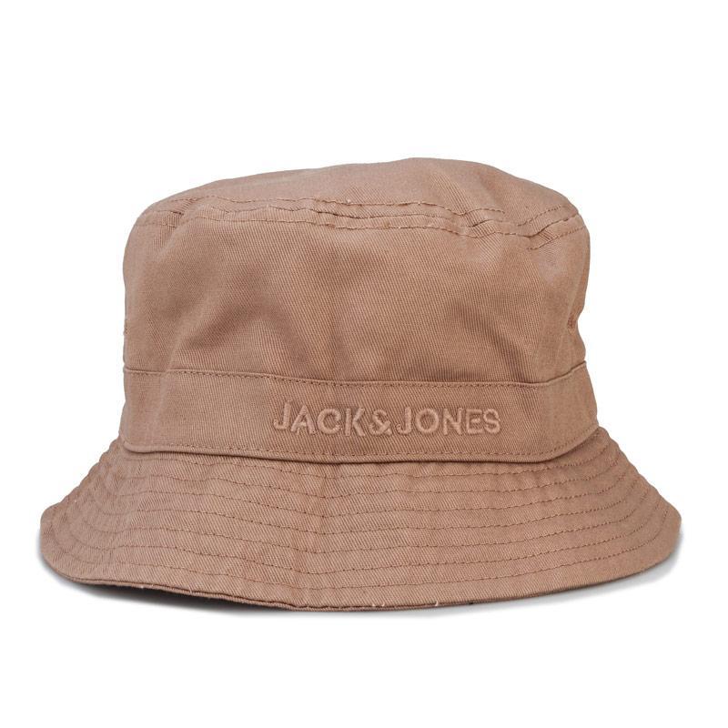 Jack Jones Mens Mason Bucket Hat Sand