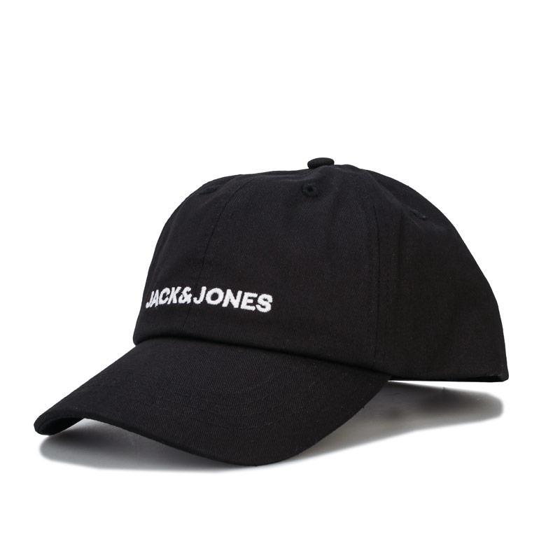 Jack Jones Mens Tammy Baseball Cap Black