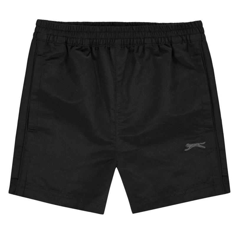 Kraťasy Slazenger Woven Shorts Infant Boys Black