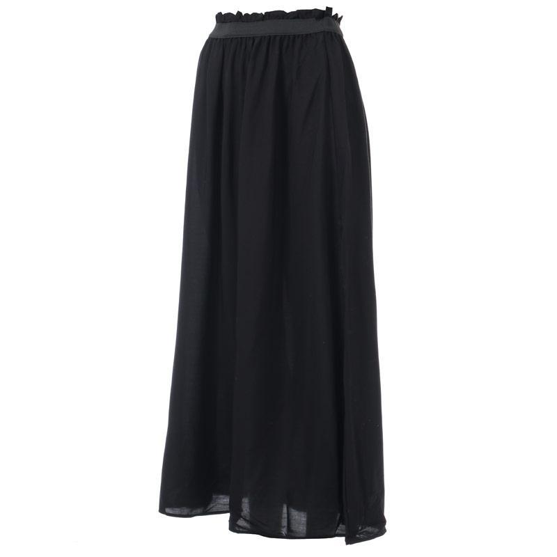 Sukně Vero Moda Womens Beauty Maxi Skirt Black