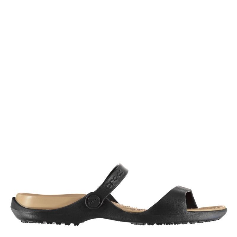 Boty Crocs Cleo Sandal Ladies Espresso/Gold