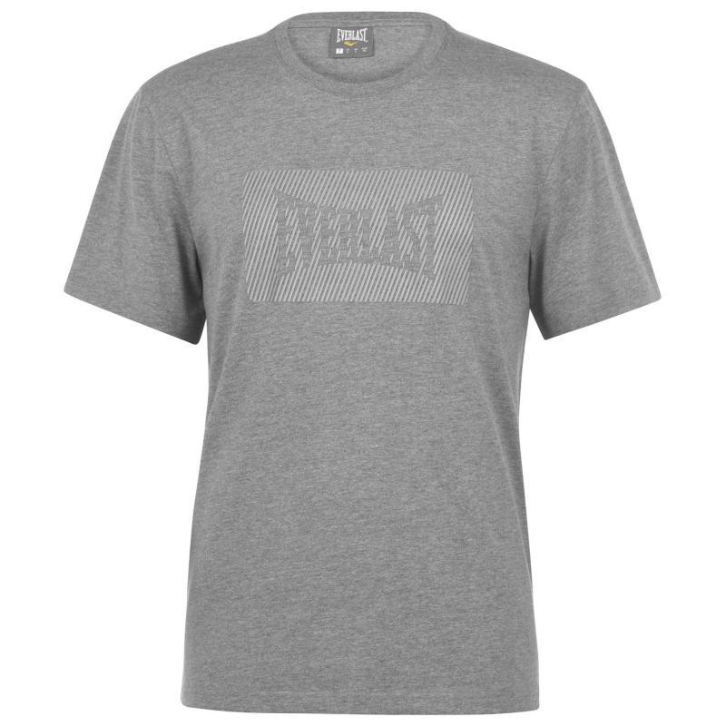 Tričko Everlast HD T shirt Grey Marl