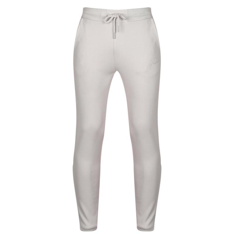 Tepláky Fabric Slim Jogging Pants Mens Grey