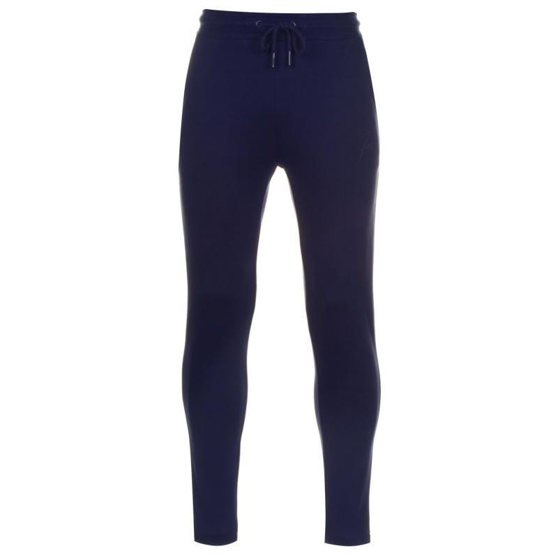 Tepláky Fabric Slim Jogging Pants Mens Navy