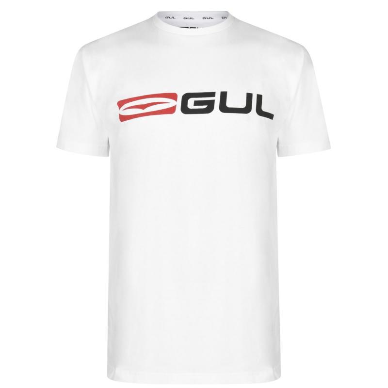 Tričko Gul Logo T Shirt Mens White