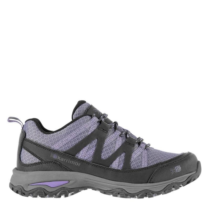 Boty Karrimor Surge Walking Shoes Ladies Charoal/Purple