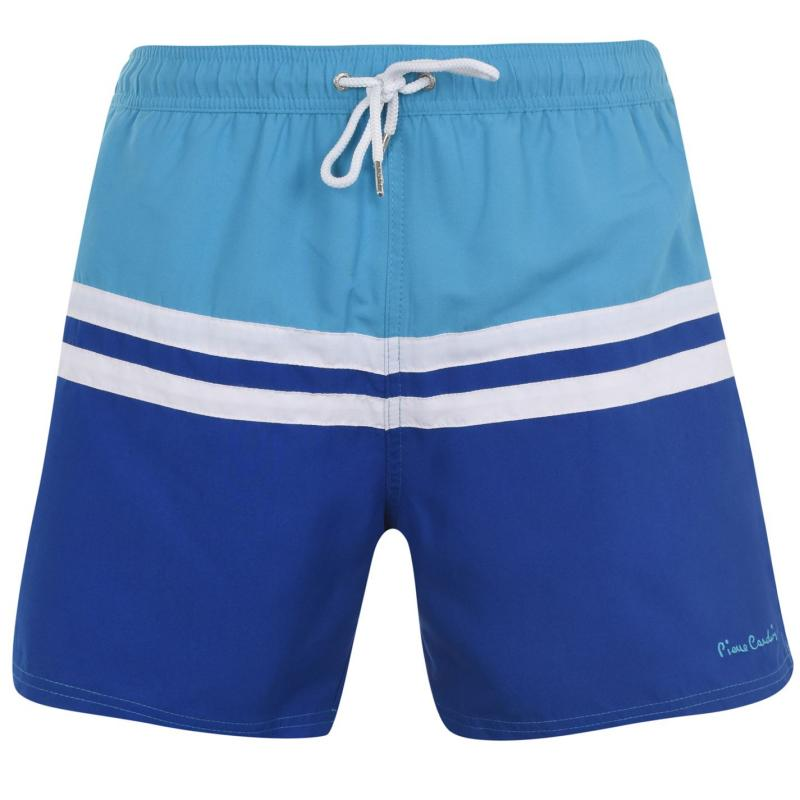 Plavky Pierre Cardin Swim Shorts Mens Turq/Royal