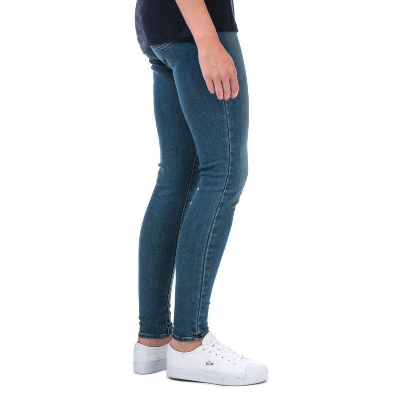 Levis Womens 710 Super Skinny Warm Jeans Denim