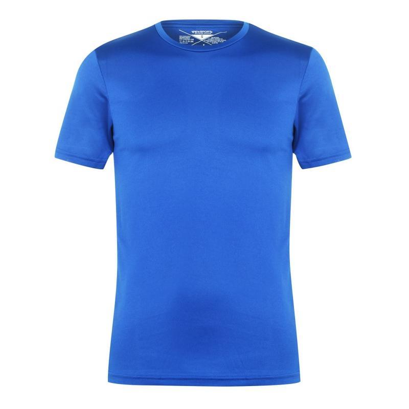 Tričko Iron Man Jersey T Shirt Mens Royal Blue