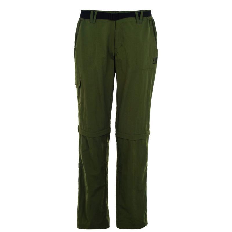 Karrimor Aspen Zip Off Trousers Ladies Khaki