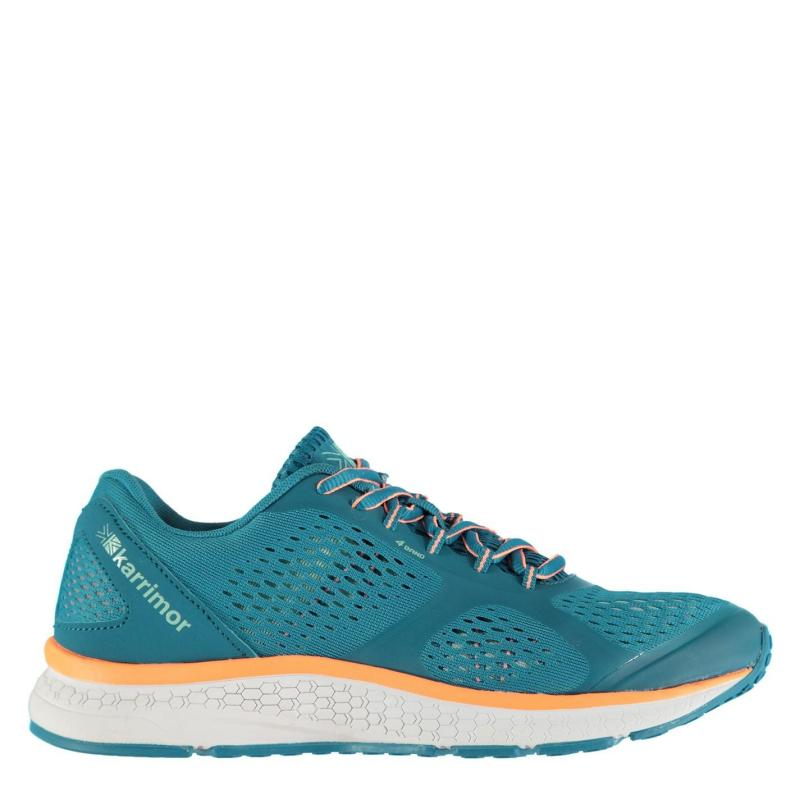 Karrimor Tempo Ladies Running Shoes Teal/Coral