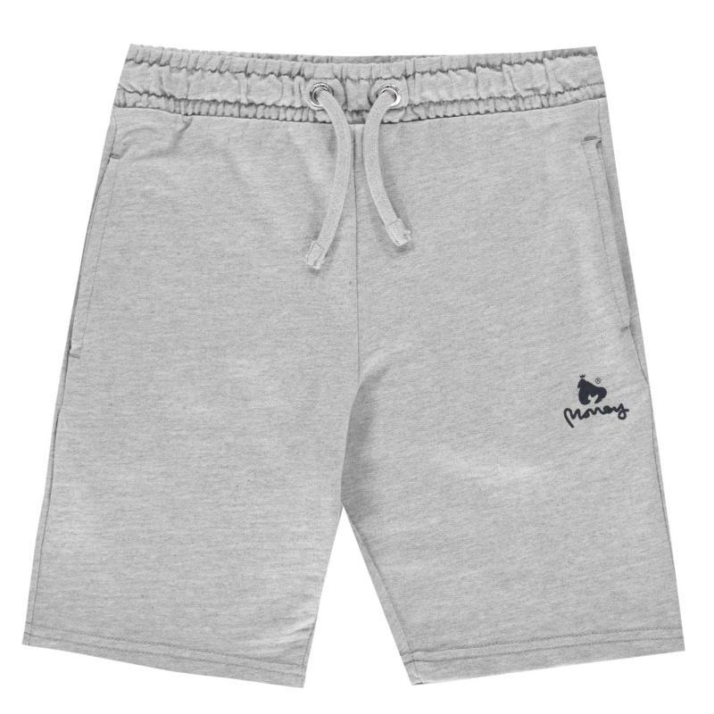 Kraťasy Money Jersey Shorts Vintage Grey