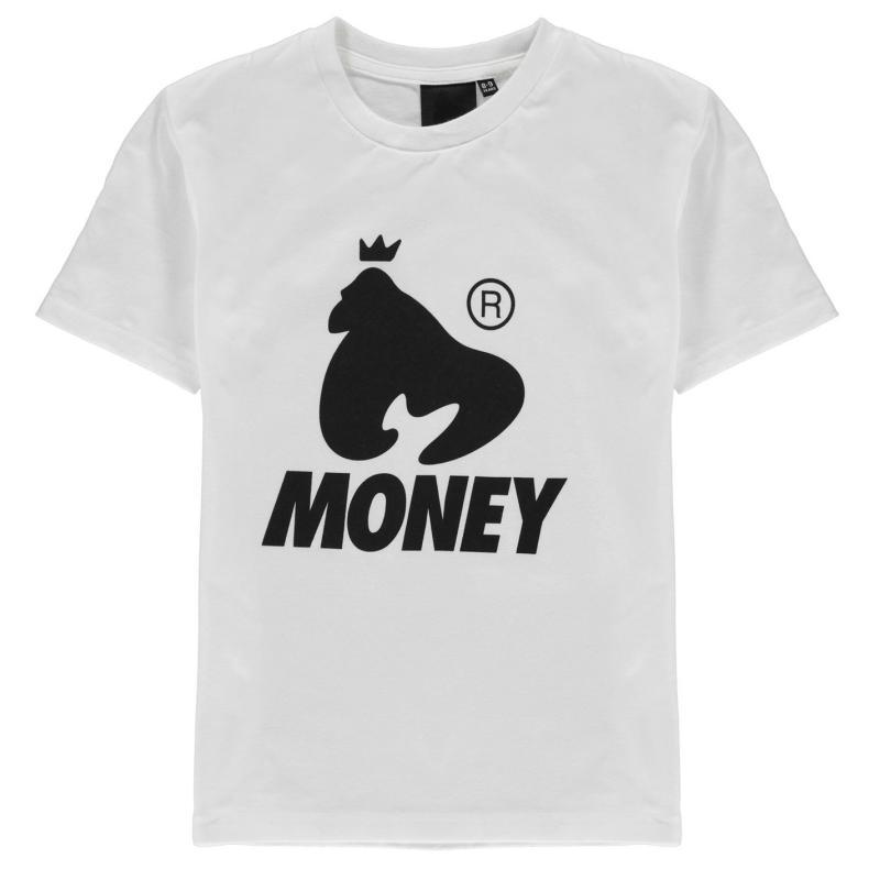Tričko Money Logo T-Shirt Bright White