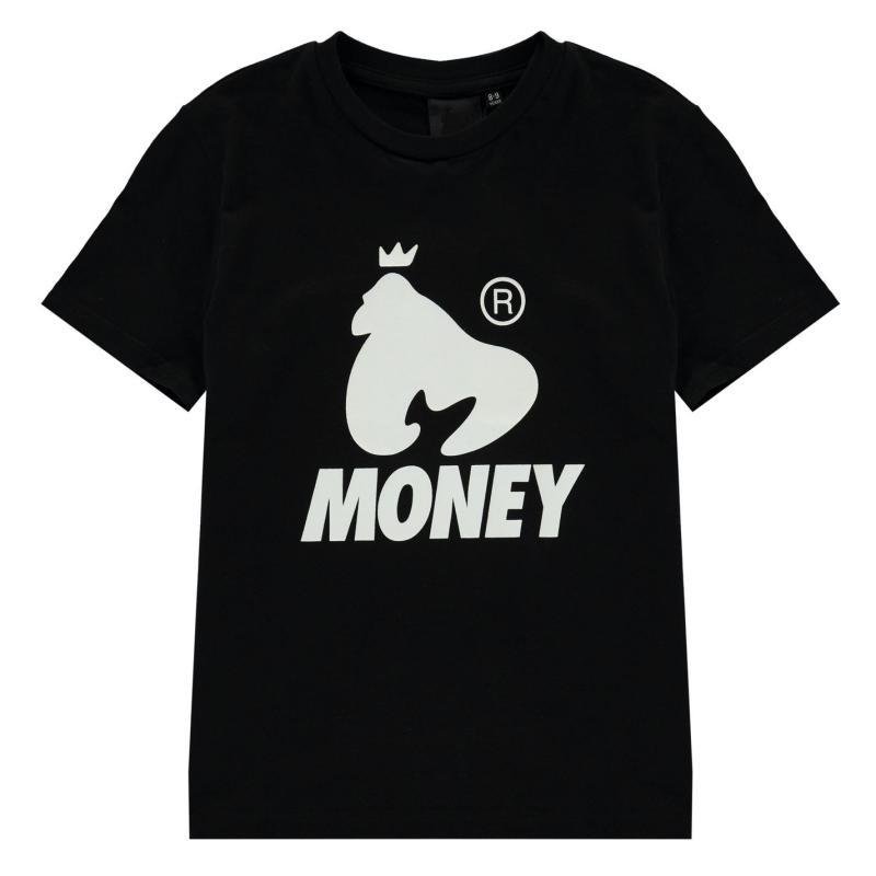 Tričko Money Logo T-Shirt Black