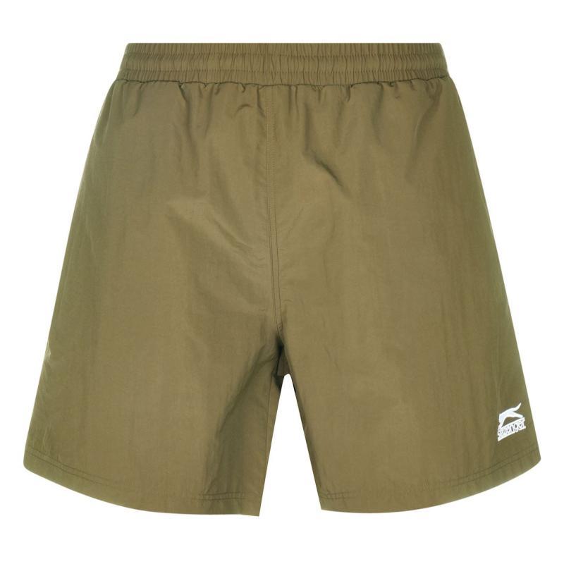 Plavky Slazenger Swim Shorts Mens Olive
