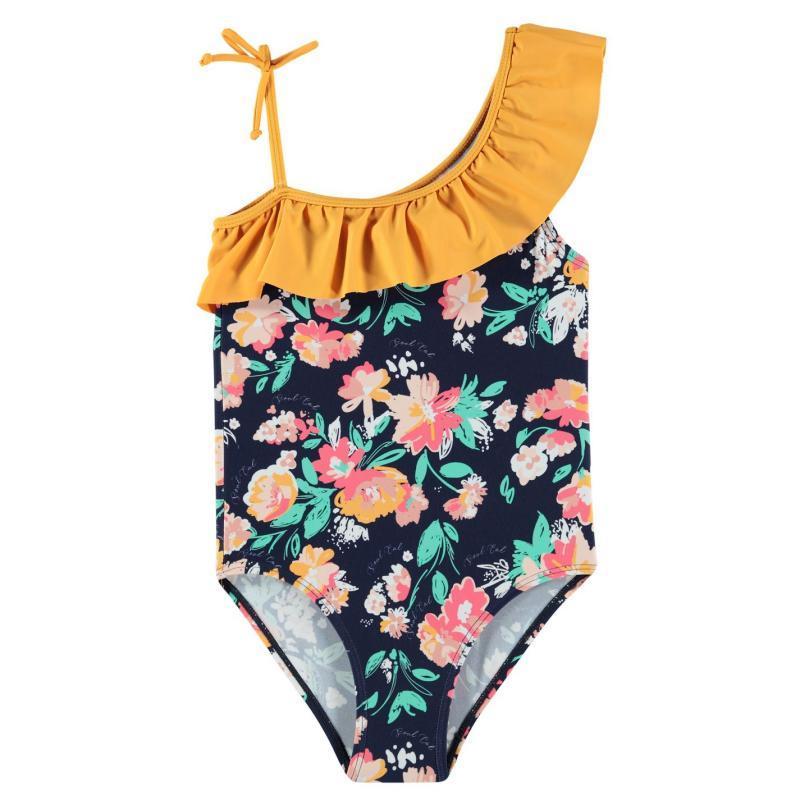 SoulCal Swimsuit Infant Girls Ochre Floral