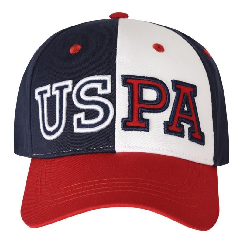 US Polo Assn Varsity Cap Red