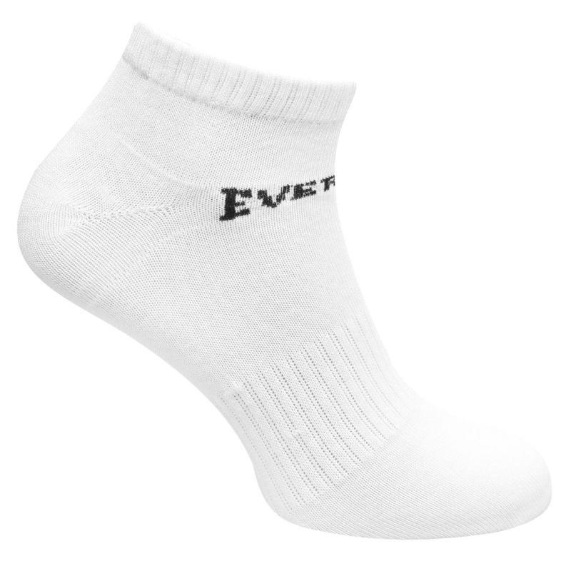 Ponožky Everlast 3 Pack Trainer Socks Mens White