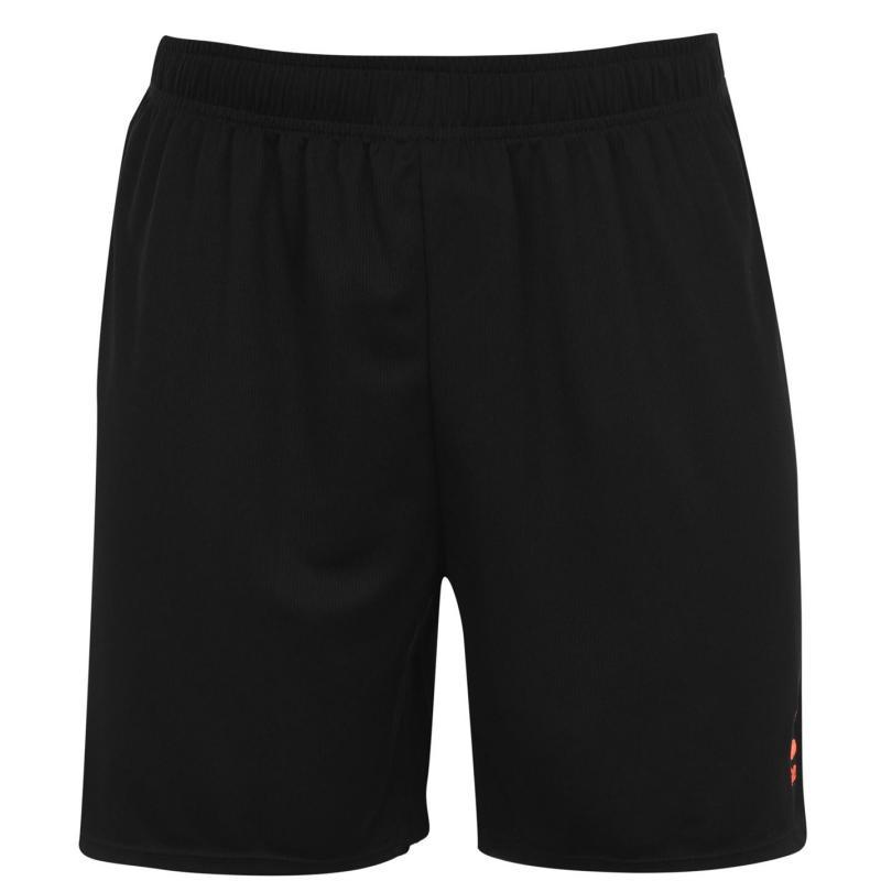 Sondico Core Football Shorts Mens Black/FluOrang