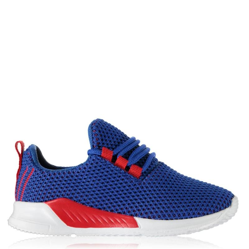 Boty Fabric Santo Trainers Infant Boys Blue/Red