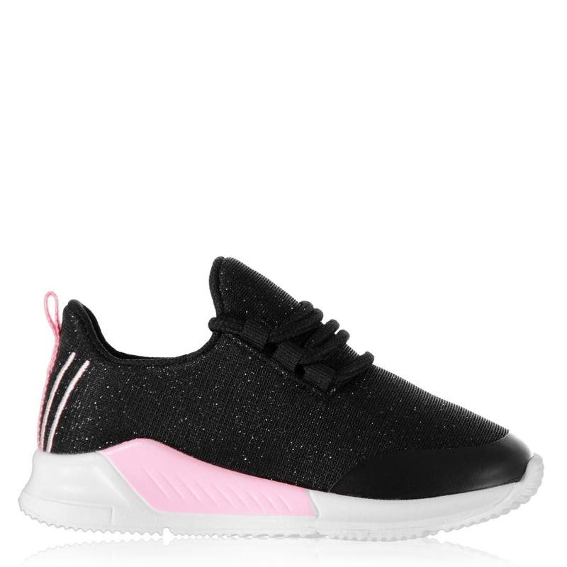 Boty Fabric Santo Trainers Infant Boys Pink/Black