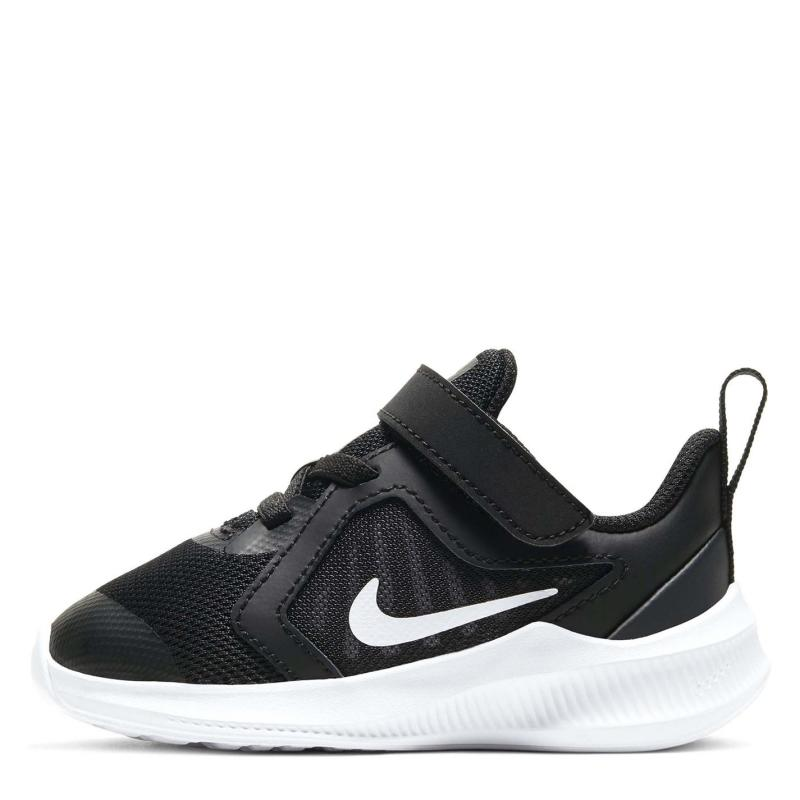 Boty Nike Downshifter 10 Trainers Infant Boys BLACK/WHITE-ANTHRACITE