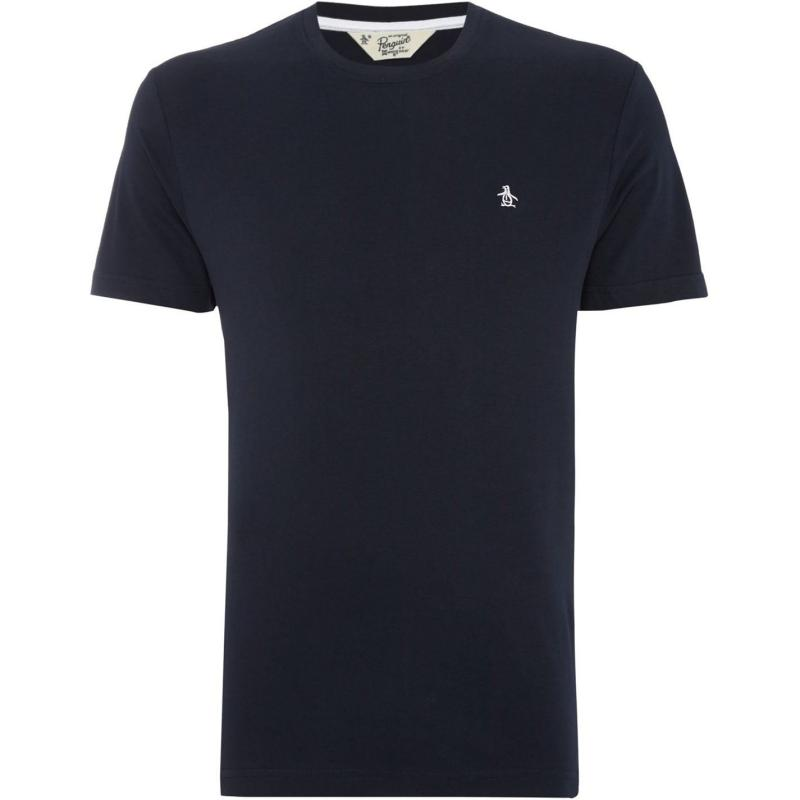 Tričko Original Penguin Short Sleeve Crew Neck T Shirt Navy