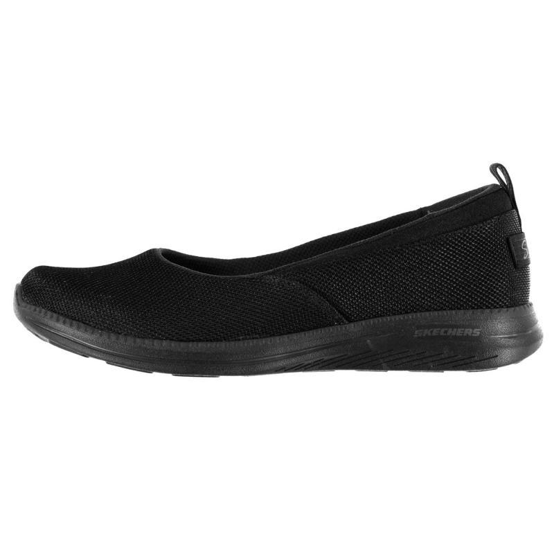 Obuv Skechers City Pro Slip On Shoes Ladies Black