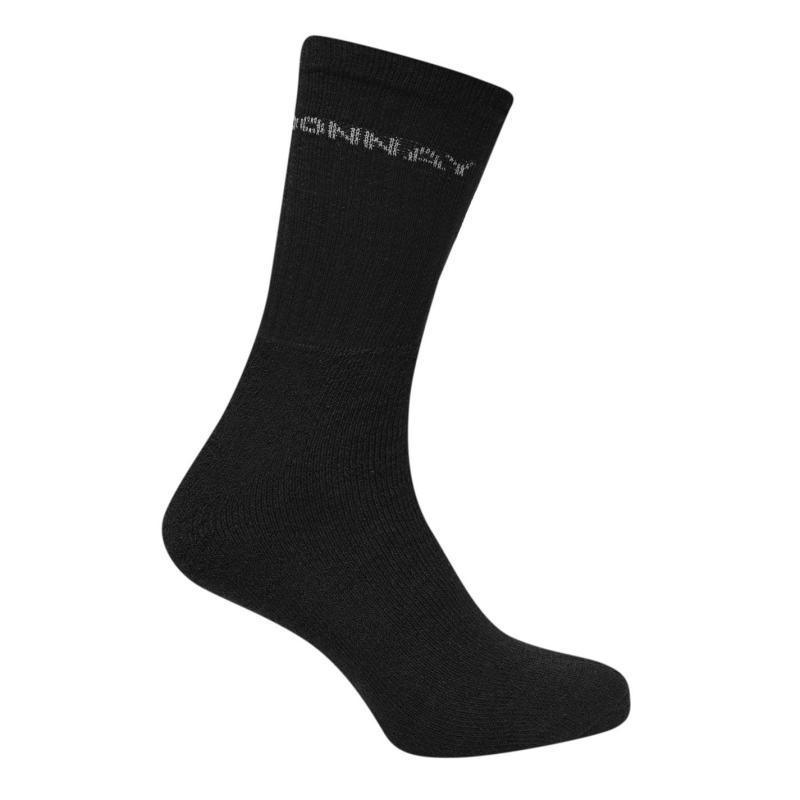 Ponožky Donnay Crew Socks 12 Pack Mens Plus Dark Asst